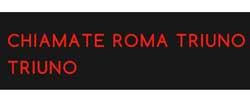 Logo della trasmissione Chiamate Roma Tri uno Tri uno