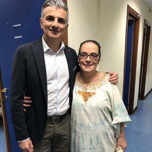 Manuele Bellotto con Chiara Vigo